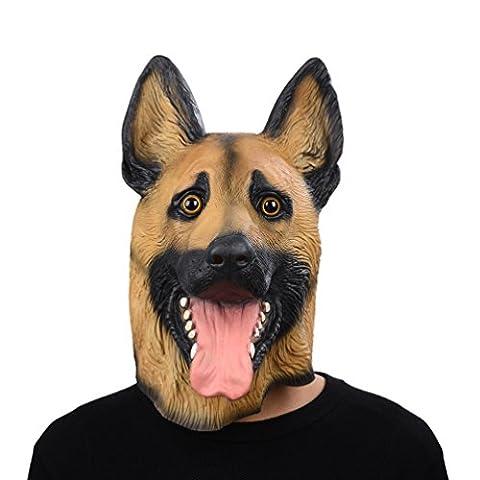 Gros Chien Costumes Pour Halloween - Party Storyla la nouveauté du latex chien