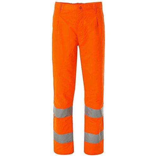 WORK AND STYLE Pantaloni Alta visibilità - Lumen Arancio, L