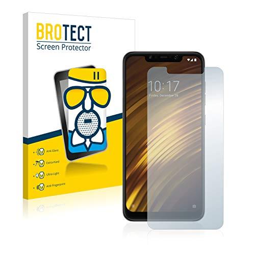 BROTECT Pellicola Vetro Opaca Compatibile con Xiaomi Pocophone F1 - Vetro Prottetivo Flessibile, 9H, AirGlass