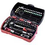 Sam Outillage CP-36Z Coffret de 36 Embouts de vissage