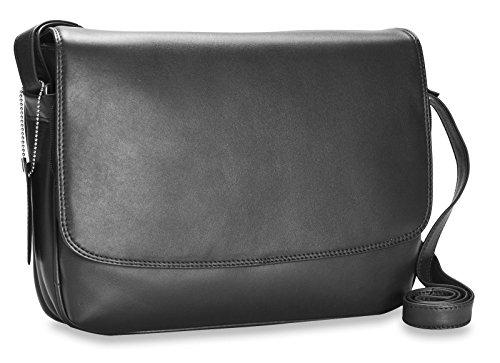Visconti Atlantic - Petit sac à bandoulière / sac d'organisation en cuir souple véritable - CLAUDIA # 03190