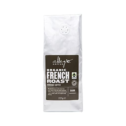Allegro Coffee Organic French Roast Coffee, 227g