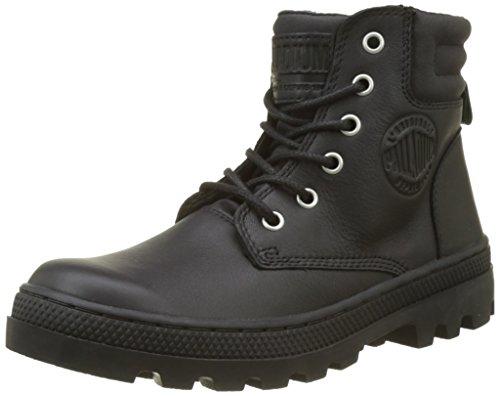Palladium Damen Plboss Cuf L W Hohe Sneaker, Schwarz (Black/Black), 39.5 EU