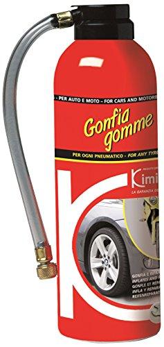 Kimicar 0400300 Ripara e Gonfia Gomme, 300 ml, Bianco, Set di 1