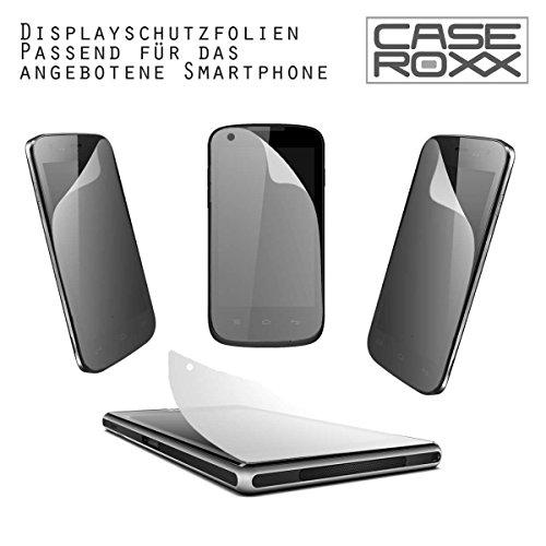 caseroxx TPU-Hülle & Bildschirmschutzfolie für Medion Life X5004 MD 99238, Set (TPU-Hülle in transparent)