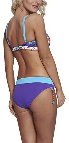 Feba Figurformender Damen Bikini S2L2N1 Muster-02DK