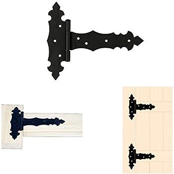 Kreuzgehänge Torband Türscharniere Bänder Holzverbindung T-Scharniere T-Bänder 3