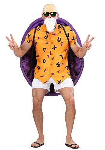 Dragon Ball Z Meister Roshi Herren Kostüm - M (Herr Meister Kostüm)