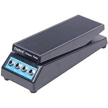 Signstek – Pedale per effetti per chitarra, pedale volume DJ Band suono stereo per bassa impedenza con manopola regolabile per amplificatore.