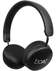boAt Rockerz 440 Wireless Bluetooth Headset with in-Built Mic(Black)
