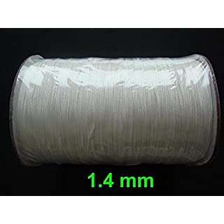 Amazing Drapery Hardware 25 YARDS: 1.4 MM White Professional Braided Lift Cord for Blinds and Shades