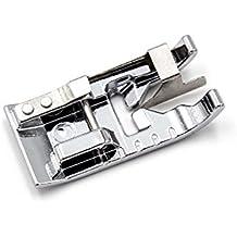 vhbw Accesorio Repuesto máquina de Coser, prensatela Borde con guía Central para máquina de Coser