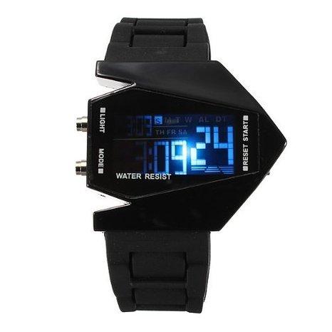 Boolavard® TM 82901-Uhr (Futuristische Uhr)
