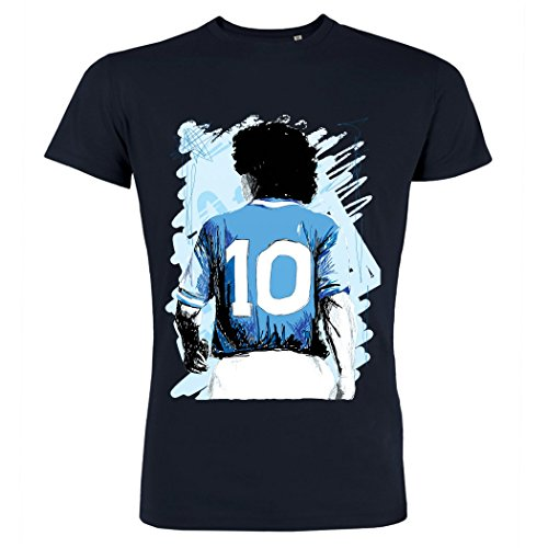 pushertees-t-shirt-uomo-navy-blue-tbf-4-the-best-flag-sportivo-vintage-giocatore-classico-maradona-o