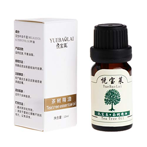 Ätherisches Öl Teebaum-Duft 10 ml Akne Noppen Behandlung Feuchtigkeitspflege Hautpflege