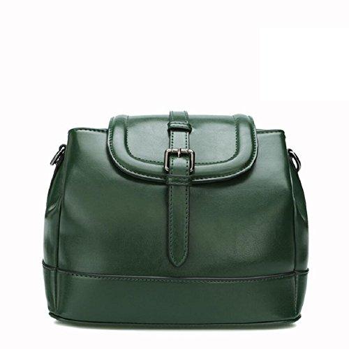 Z&N Qualität Damen Umhängetasche Handtasche Diagonalpaket Multi-Tasche lässig Reisetasche Messenger Kreuztasche Party Hochzeit Dark green