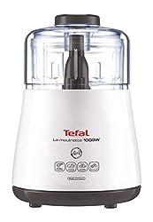 Tefal DPA130 La Moulinette Elektrischer Zerkleinerer (1000 Watt, Behälterkapazität: 330 g, inklusive Kabelverstaufach) weiß