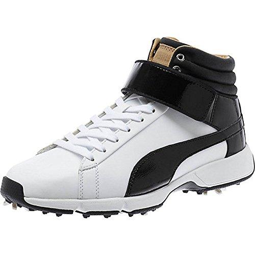 Puma Titantour Hi-Top SE Junior White Black, Größe:5