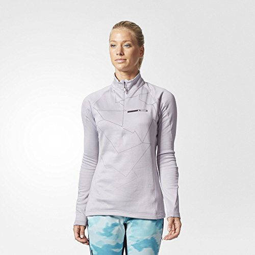 Adidas Terrex Icesky Women's LS2 Top - AW17 Grey