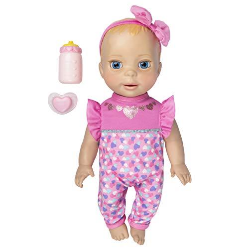 Luvabella 6053969 Newborn, Blonde Haare, interaktive Baby-Puppe mit realistischen Ausdrücken und Bewegungen, Multicolour