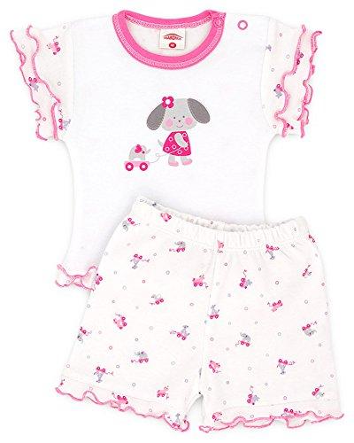 2-tlg. Baby Set Shirt und Shorts Slonik Gr.68,74,80,86 (86)