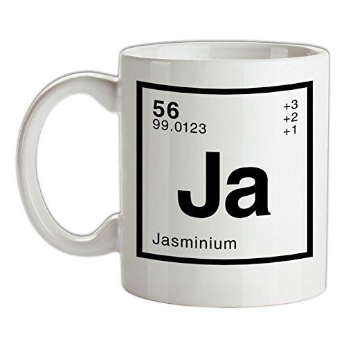 Jasmin Periodensystem - Bedruckte Kaffee- und Teetasse