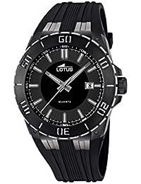 Lotus 15806_3 - Reloj Analógico Para Hombre, color Negro/Negro