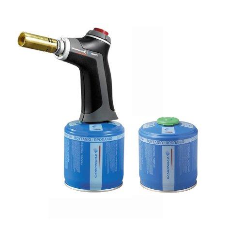 Preisvergleich Produktbild Lötlampe VT 2000 PZ + 2x Kartuschen CV 300 Plus *SPARSET*