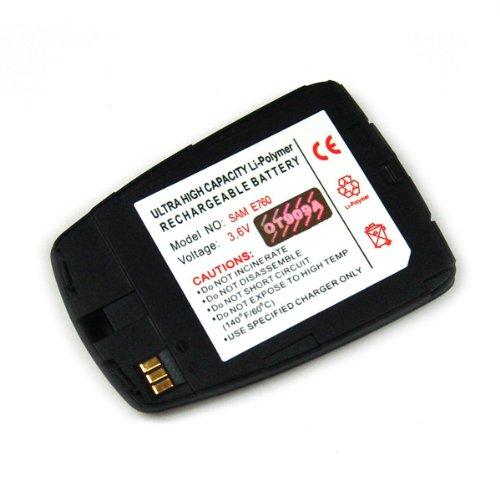 Akku passend zu Samsung SGH-E760 Li-Polymer schwarz, Accu