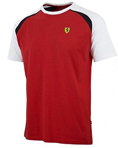 Herren T-Shirt Sebastian Vettel Ferrari F1 Team Formel 1 (M)