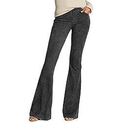 Vectry Pantalones Yoga Negros Mujer Mujer Pantalones Chinos Pantalones Hippies Mujer Campana Pantalon Corto Mujer Deporte Pantalones Pitillo Mujer De Vestir Pantalon Largo Verano