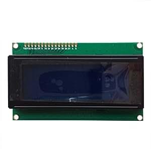 SODIAL (R) 2pcs 20X4 affichage de caracteres du module LCD retro-eclairage bleu pour Arduino LCD HD44780