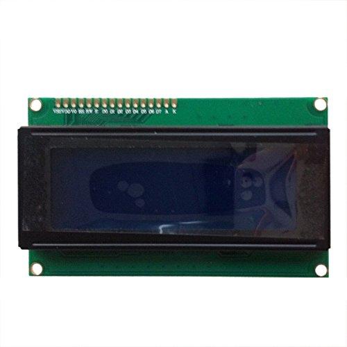 Zeichen 20 (SODIAL (R) 2pcs 20X4 Zeichen LCD Modul Display blaue Hintergrundbeleuchtung fuer Arduino LCD HD44780)
