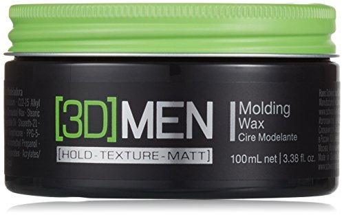 Schwarzkopf Professional 3D Men - Cera Moldeadora - Acabado brillante natural - 100 ml