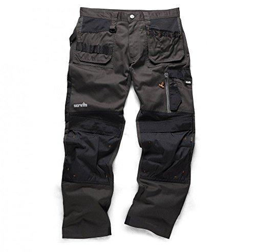 Scruffs Lot de 2pantalons de travail en cordura 3D avec genouillères Mixed (1 Black Pair, 1 Graphite Pair)