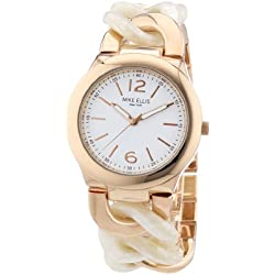 Mike Ellis Women's Quartz Watch L3078ARM with Metal Strap