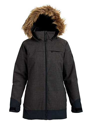 Burton Damen Lelah Snowboard Jacke, True Black Heather, M