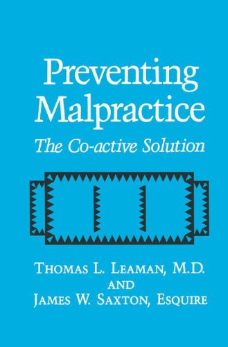 Preventing Malpractice: The Co-Active Solution