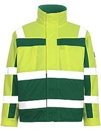 Mascot Pilot Chaqueta Timón, 1 pieza, XL, amarillo/verde, 07123 ·