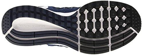 Nike Herren Air Zoom Pegasus 32 Laufschuhe mehrfarbig (Midnight Navy/White-Mdnght Nvy)