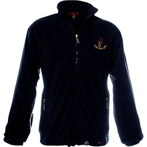 iLuv Men's Fleece Edinburgh with Piper Navy