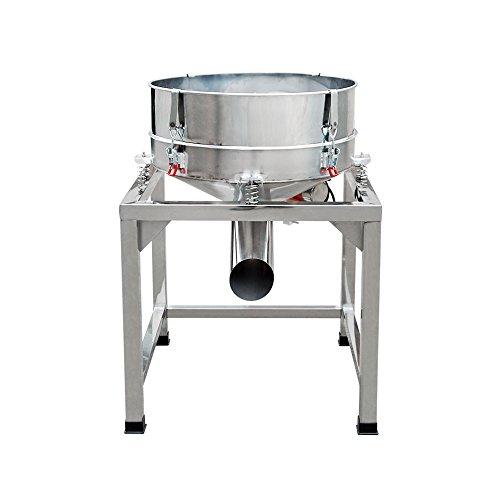 DCHOUSE Nahrungsmittelindustrieller Edelstahl-automatische Sichter-Rttler-Maschinen-Pulver-vibrierende Sieb-Maschine 220V 300W
