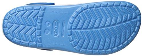 crocs Unisex-Erwachsene Crocband Clogs Blau (Bluebell/White)