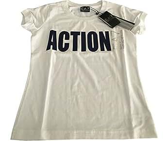 armani t shirt donna bianca