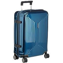 Samsonite Neopulse - Spinner 55 - 2.20 Kg, Bagage cabine 55 cm, 38 litres, Bleu (Metallic Blue)