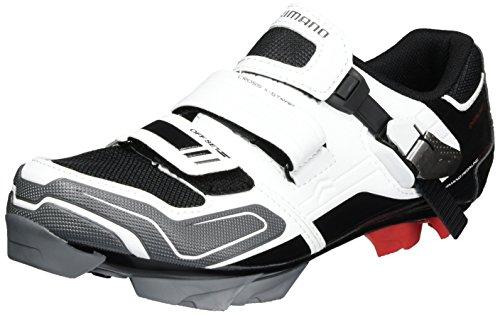 Shimano, SPD SH XC 51, Scarpe da ciclismo Unisex adulto weiß-schwarz