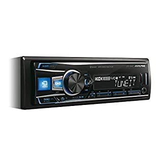 Alpine UTE-92BT Car Stereo (Bluetooth, Front AUX-Input)