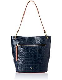Hidesign Women's Shoulder Bag (Midnight Blue Lobster)