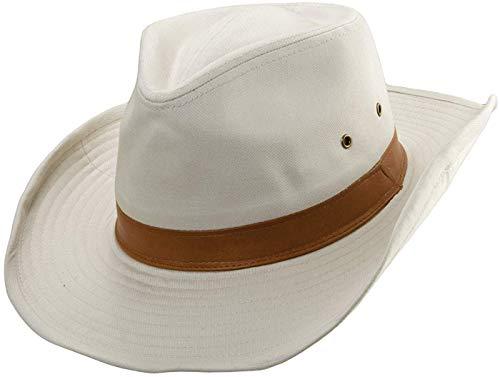 Dorfman Herren Mütze Pacific Twill Outback - Beige - Large -