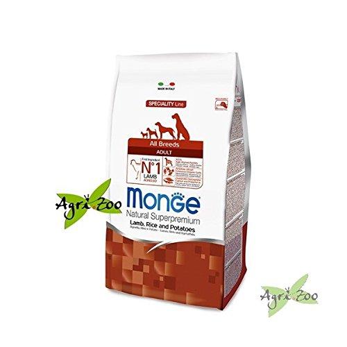 Monge - All Breeds Adult Agnello Riso e Patate 1 Sacco 12,00 kg